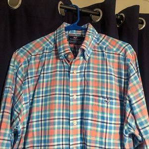 Vineyard Vines Slim Fit Tucker Linen Sport Shirt